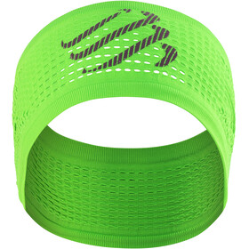 Compressport On/Off Hoofdband, fluo green
